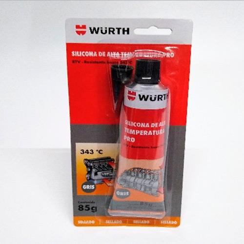 Silicona de sellado de alta temperatura wurth
