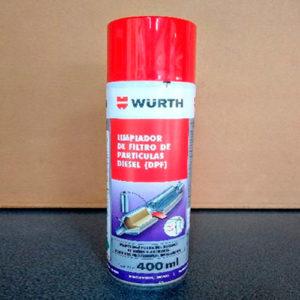 limpiador de filtro de particulas diesel