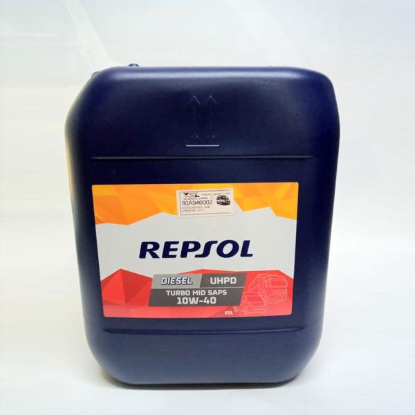 Aceite 10W-40 20 litros para DPF