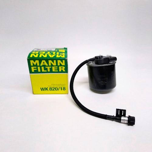 Filtro de Petróleo (Con Sensor) Mann WK820-18